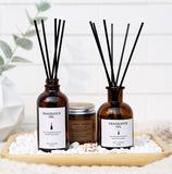 Fragrance Oil Gift Set with Diffuser Sticks