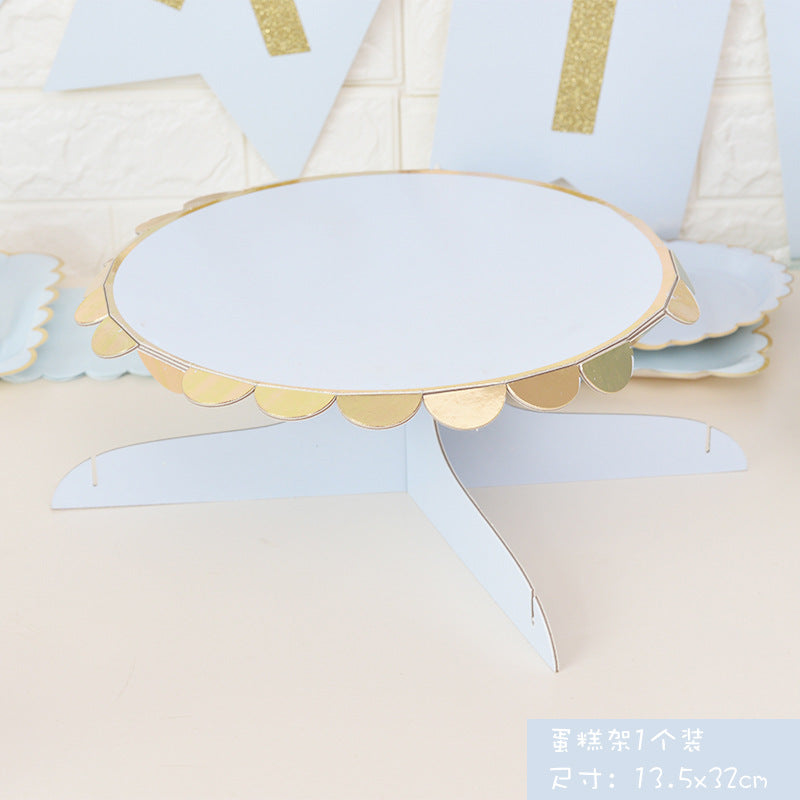 Disposable Cake Stand and Cupcake Holder Stand