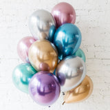 Qualatex 11-inch Chrome latex balloon