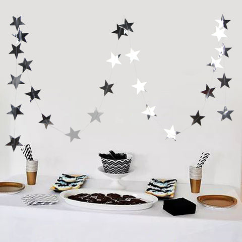 Star Banner Garland (reflective)