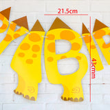 Dinosaur Theme Party Banner Happy Birthday Banner