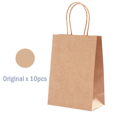 10pcs/pack 125g Craft Paper Bag