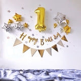 16 inch number foil balloon