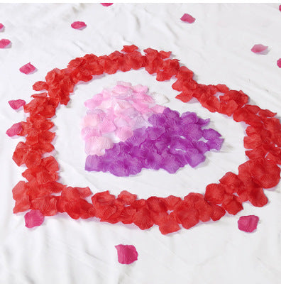 Artificial petal for wedding proposal party event decoration