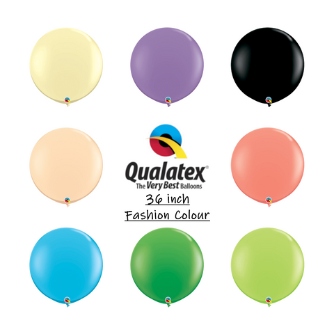 Qualatex 36 inch Fashion colour balloons