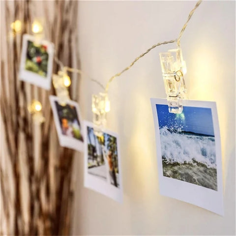 LED photo clip lights - without remote control