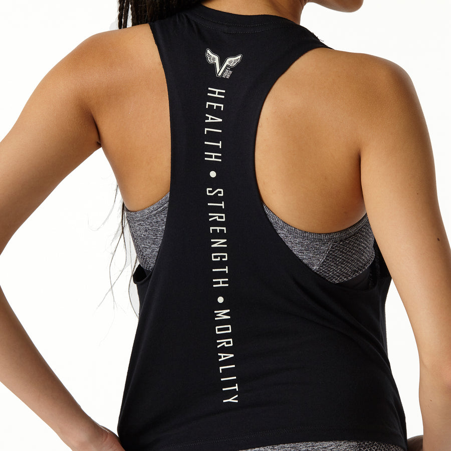 In a Flash Racerback - Black