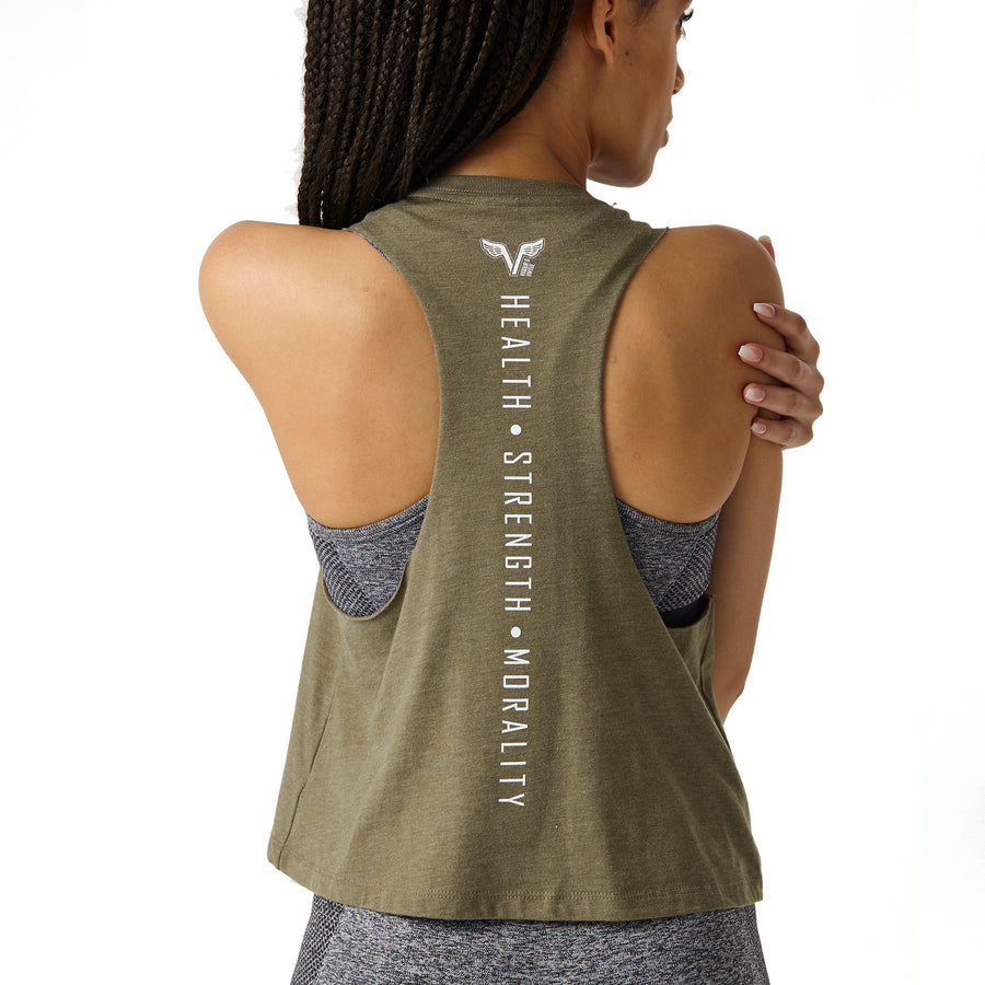 In a Flash Racerback - Olive