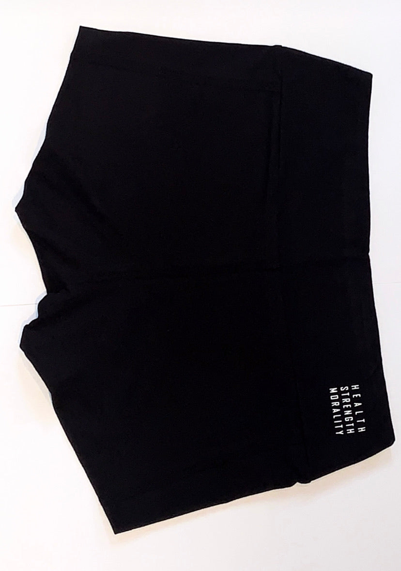 Eve - Midnight Black Shorts