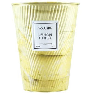 Lemon Coco Two- Wick Tin Candle