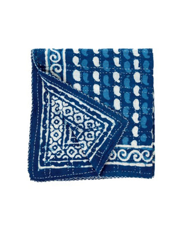 Indigo Double Sided Quilt