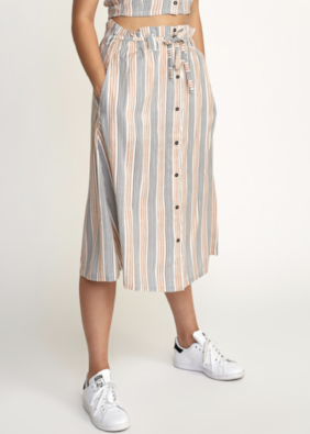 Oslo Striped Skirt