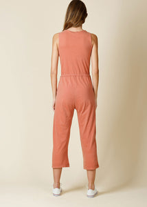 Pieced Dyed Jumpsuit