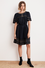 Beatrix Embroidered Dress