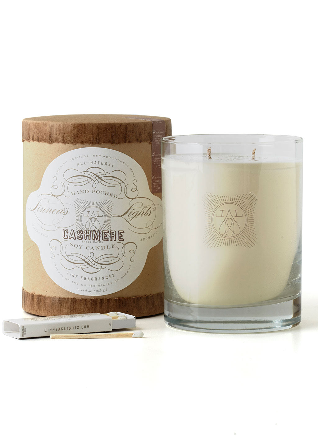 Cashmere Double Wick Candle