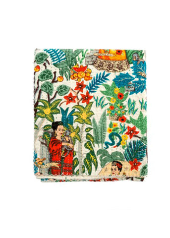 Frida Dreams Quilt Throw
