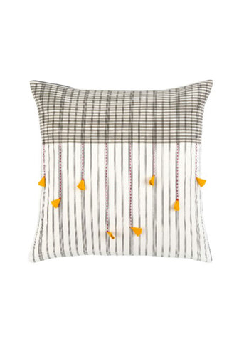 Kolkata Pillow Yellow