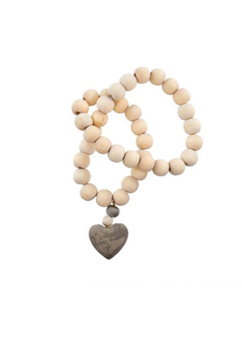Heart Prayer Beads Small