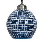 Blue glass paradise pendant ceiling lamp