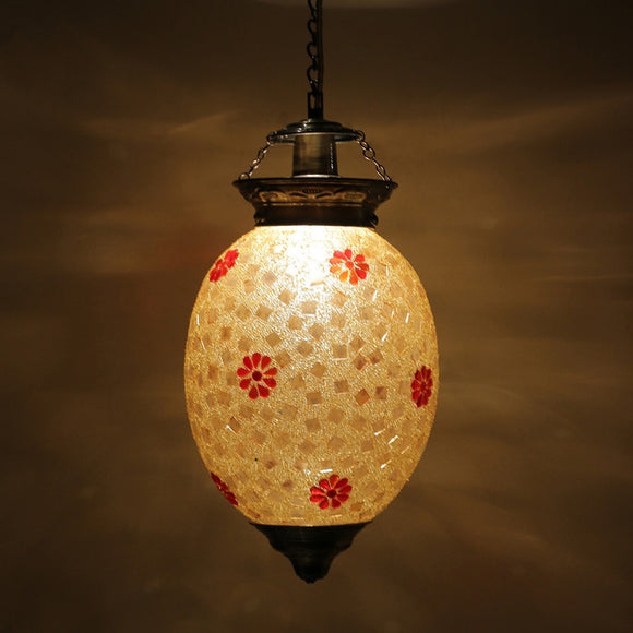 Golden glass mosaic pendant Ceiling Lamp