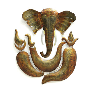 Ganeshji Metal LED wall art