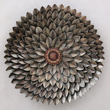 Sun Flower Metal Wall Flower