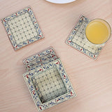 MDF multicolour tea coaster
