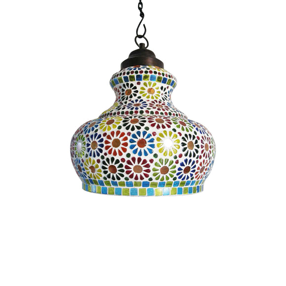 Multicolor Sunflower pendant lamp