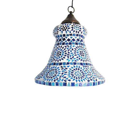 Bell glass pendant ceiling lamp