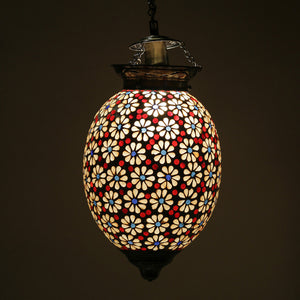 Beautiful glass ceiling pendent lamp