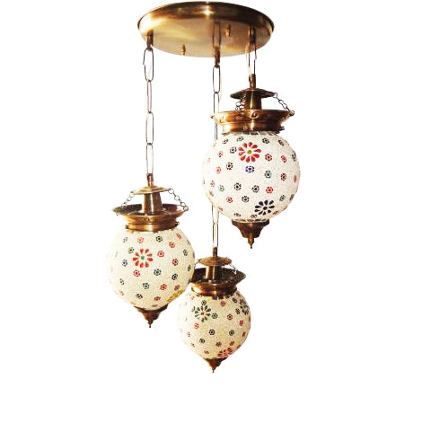 Beautiful glass ceiling pendent chandelier