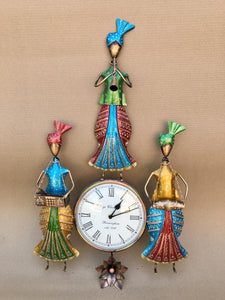 Rajasthani handcrafted wall clock