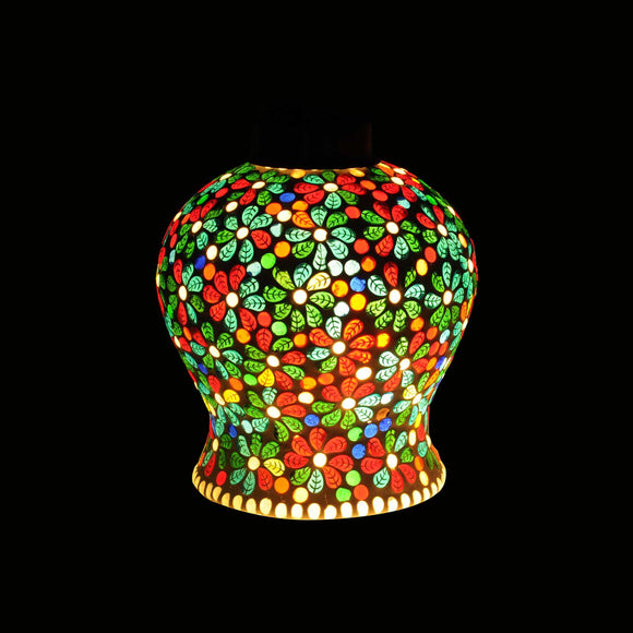 Multicolour Glass Erotic Ceiling Pendant Lamp