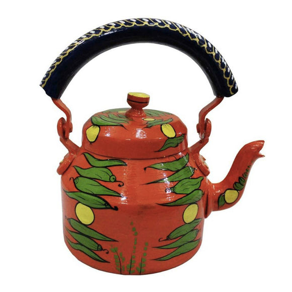Najar aluminium tea kettle showpiece