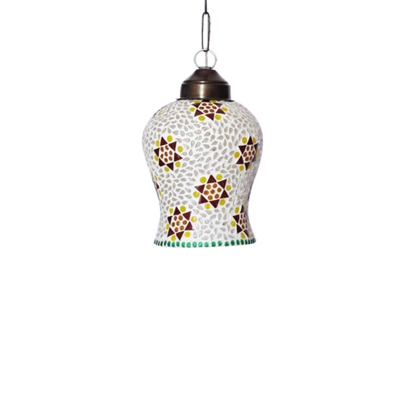 Mosaic glass hanging pendant lamp