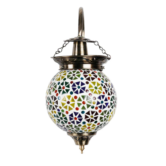 Multicolour flower wall lamp