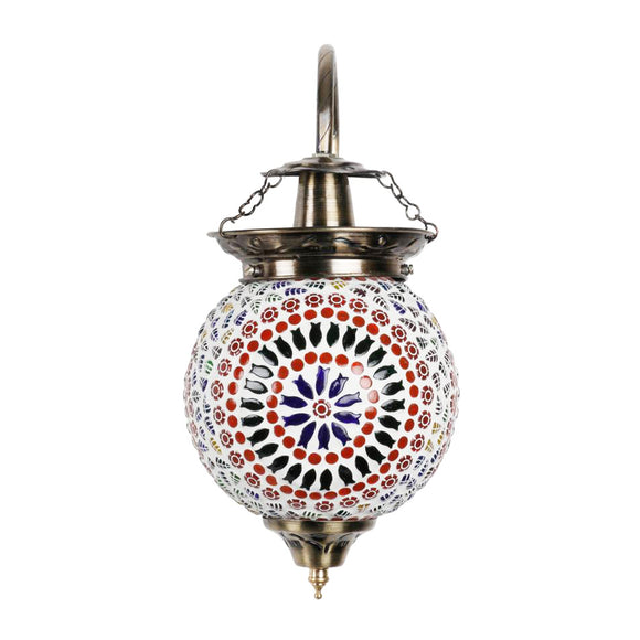Big doubles Mosaic glass wall lamp