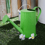 Embossed Watercane In Green Colour