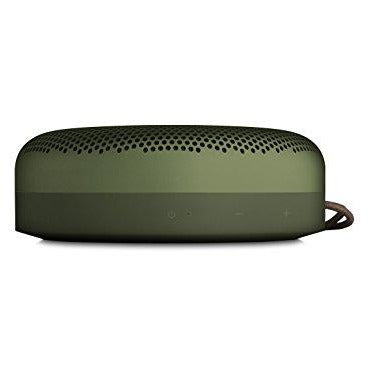 Bang & Olufsen Beoplay A1 Portable Bluetooth Speaker with Microphone – Moss Green