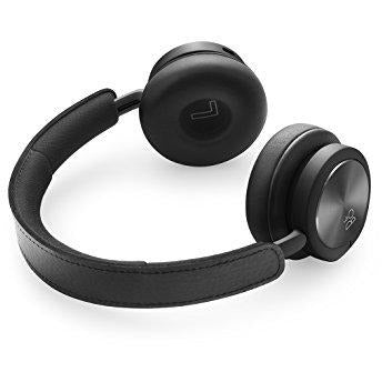 B&O PLAY by Bang & Olufsen Beoplay H8i Wireless Bluetooth On-Ear Headphones with Active Noise Cancellation (ANC), Transparency mode and Microphone - Black