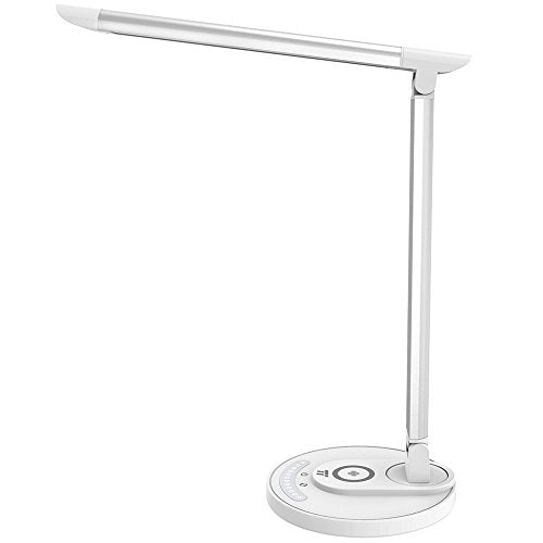 TaoTronics LED Desk Lamp with Fast Wireless Charger (Upgraded Version)