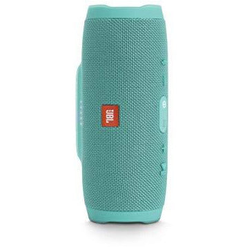 JBL JBLCHARGE3TEALAM Charge 3 Waterproof Portable Bluetooth Speaker (Teal)