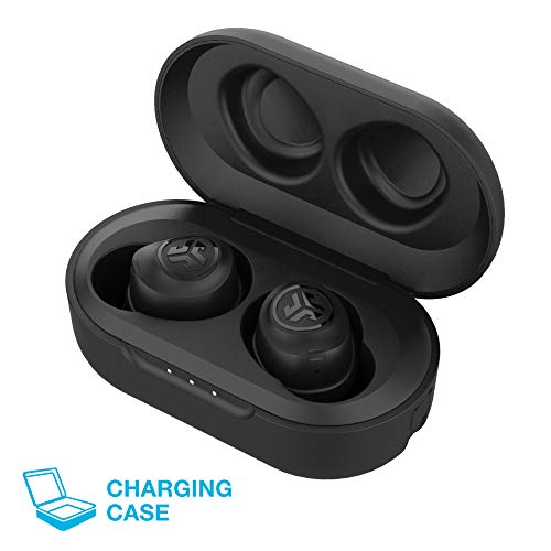 JLab Audio JBuds Air True Wireless Signature Bluetooth Earbuds + Charging Case - Black