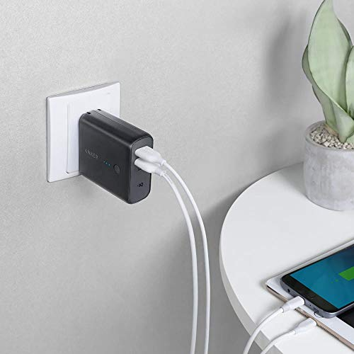Anker PowerCore Fusion 5,000mAh Dual USB Wall Charger