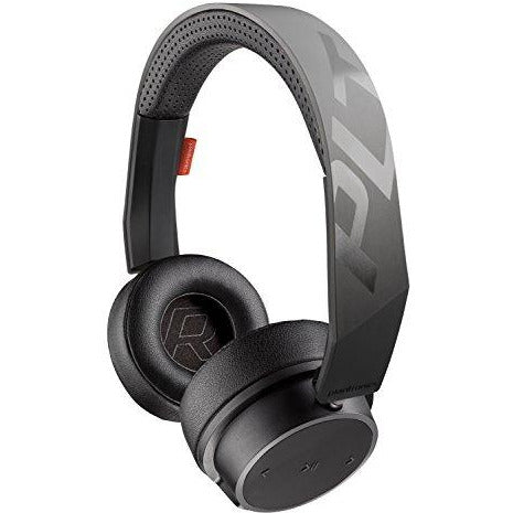 Plantronics BackBeat FIT 500 On-Ear Sport Headphones, Wireless Headphones with Sweat-Resistant Nano-Coating Technology, Black