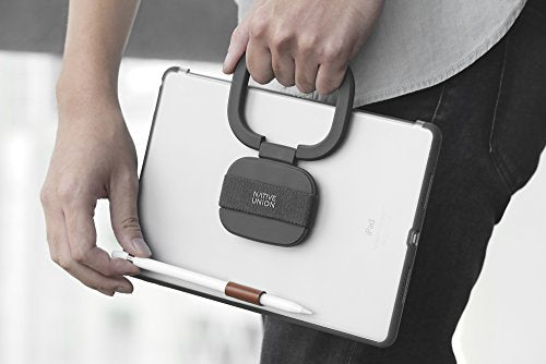 Native Union GRIPSTER Case - Protective Cover with Multi-Functional Grip/Stand and Apple Pencil Holder for iPad Pro 9.7