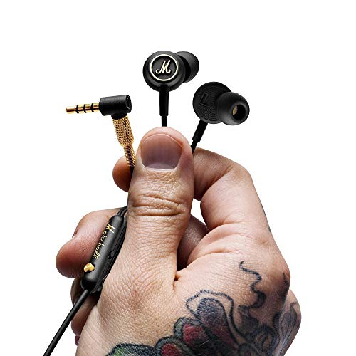 Marshall Mode EQ in-Ear Headphones - Black/Brass
