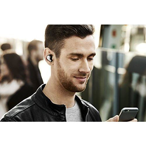 Jabra Elite 65t Alexa Enabled True Wireless Earbuds with Charging Case  – Titanium Black