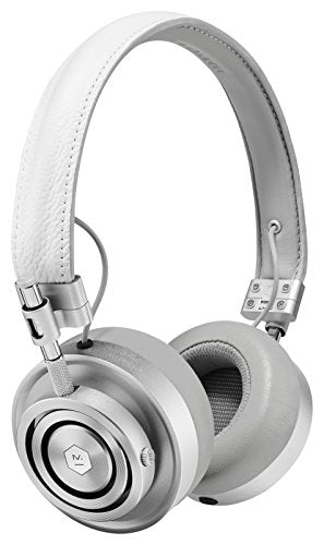 Master & Dynamic MH30S5 Foldable On-Ear Headphones - White Leather