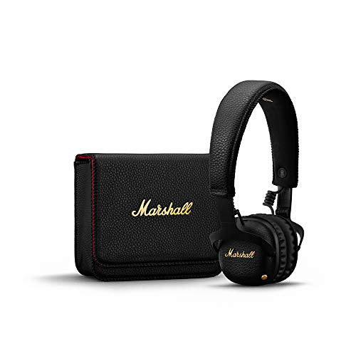 Marshall Mid ANC Active Noise Cancelling On-Ear Wireless Bluetooth Headphone - Black